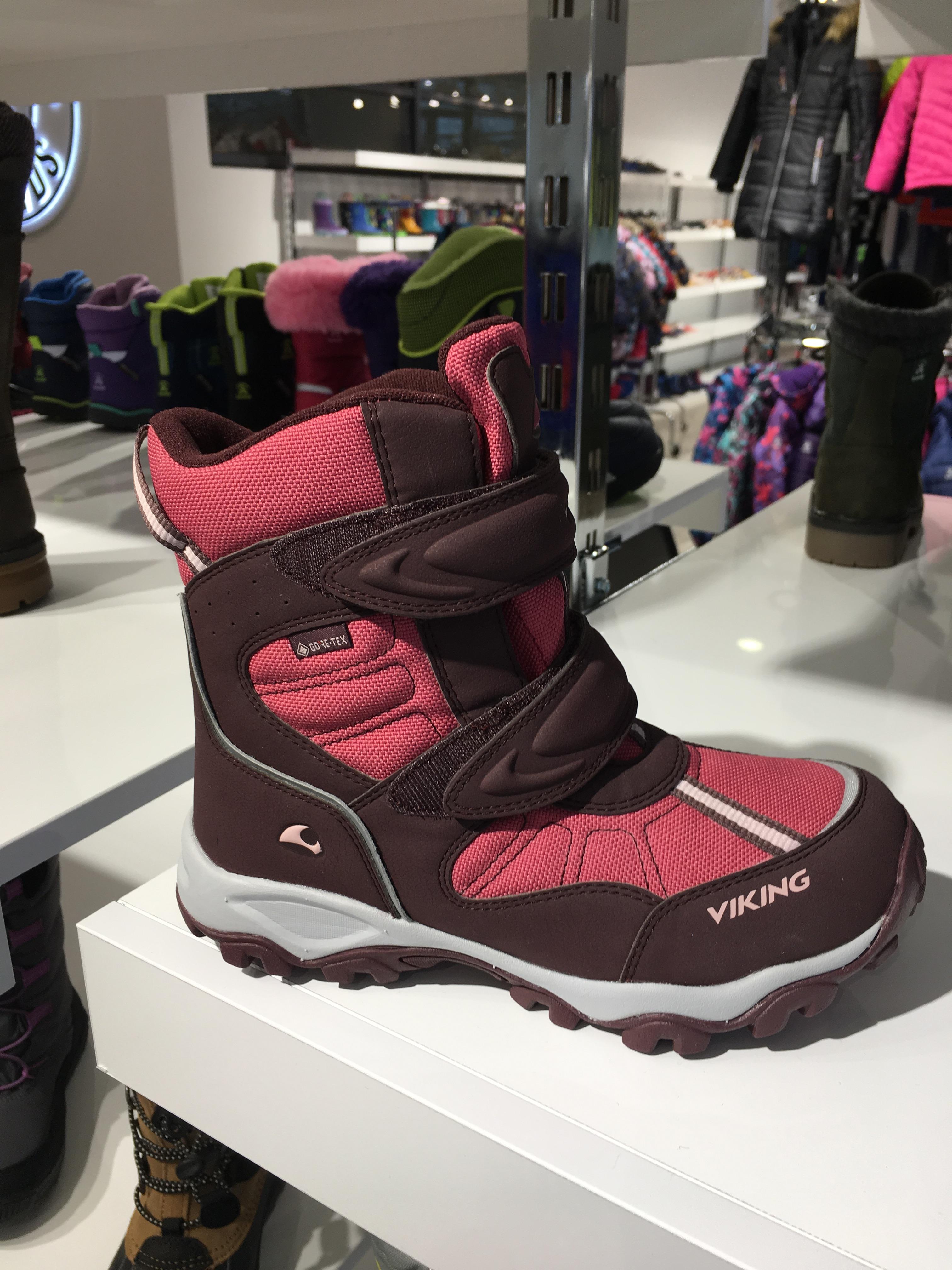 продажа Viking, зимние ботинки для ребенка, зимние детские сапоги со скидкой