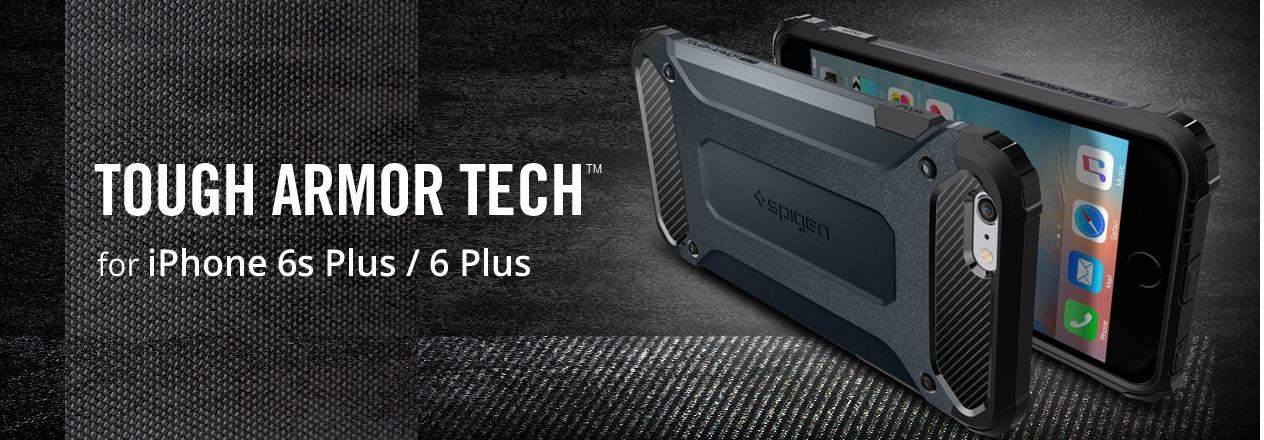 Противоударные накладки Case Tough Armor Tech Sgp Spigen для 6 Plus / 6S Plus.