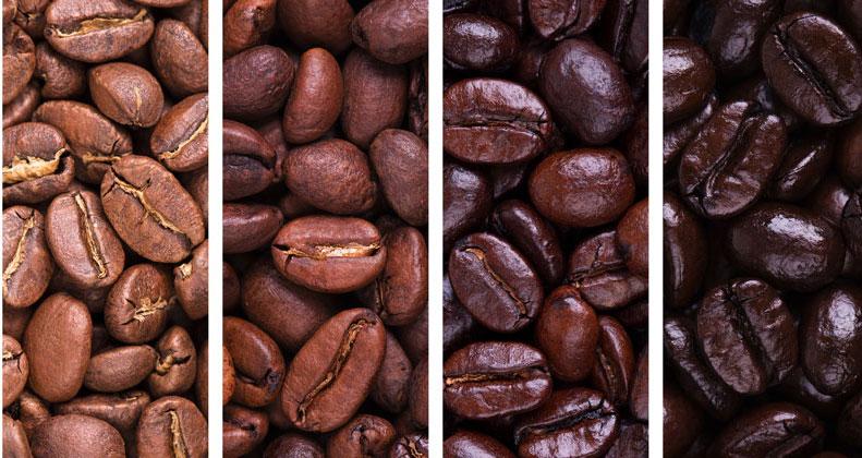 степени обжарки кофе