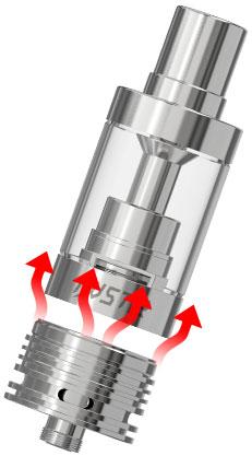Специальная структура теплоотвода iJust 2