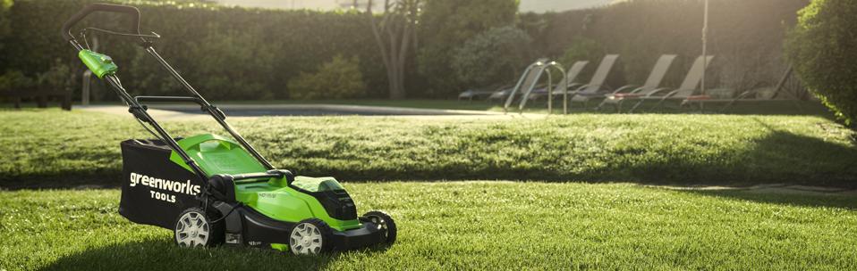 Новые технологии от компании Greenworks