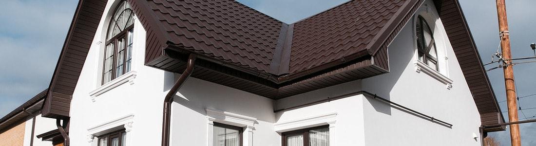 Обрамления окон и фасадный декор