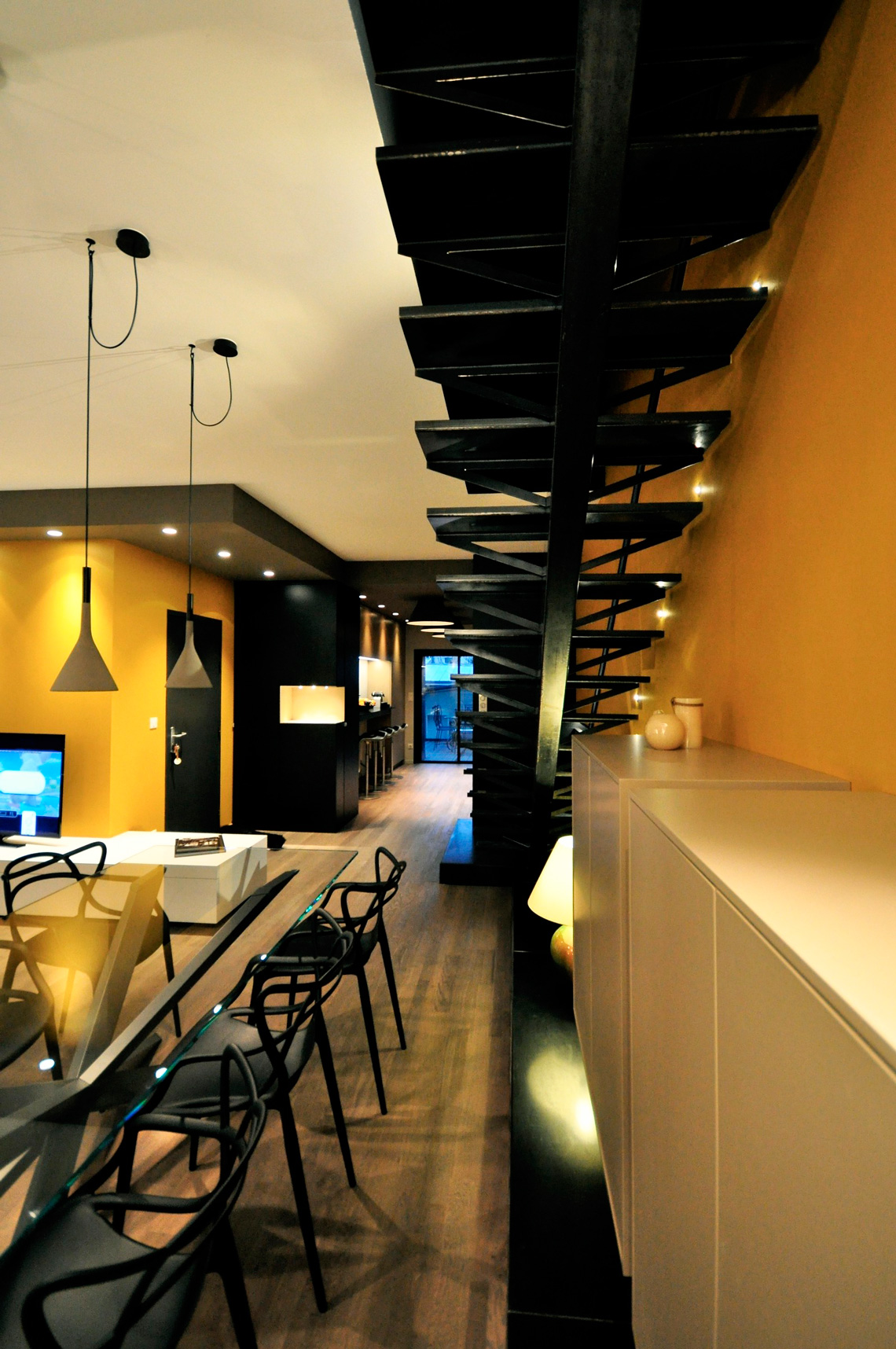 Дизайн и ремонт двухуровневой квартиры в Краснодаре