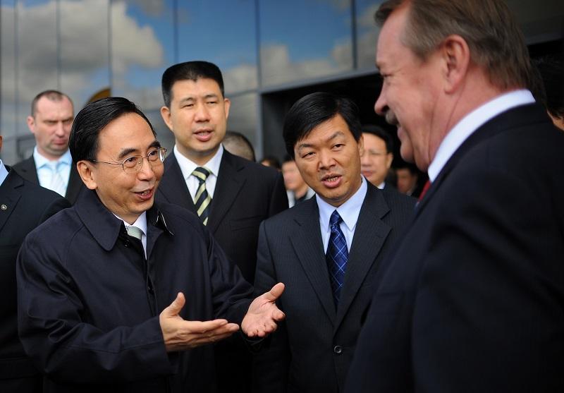 переговоры с китайцами