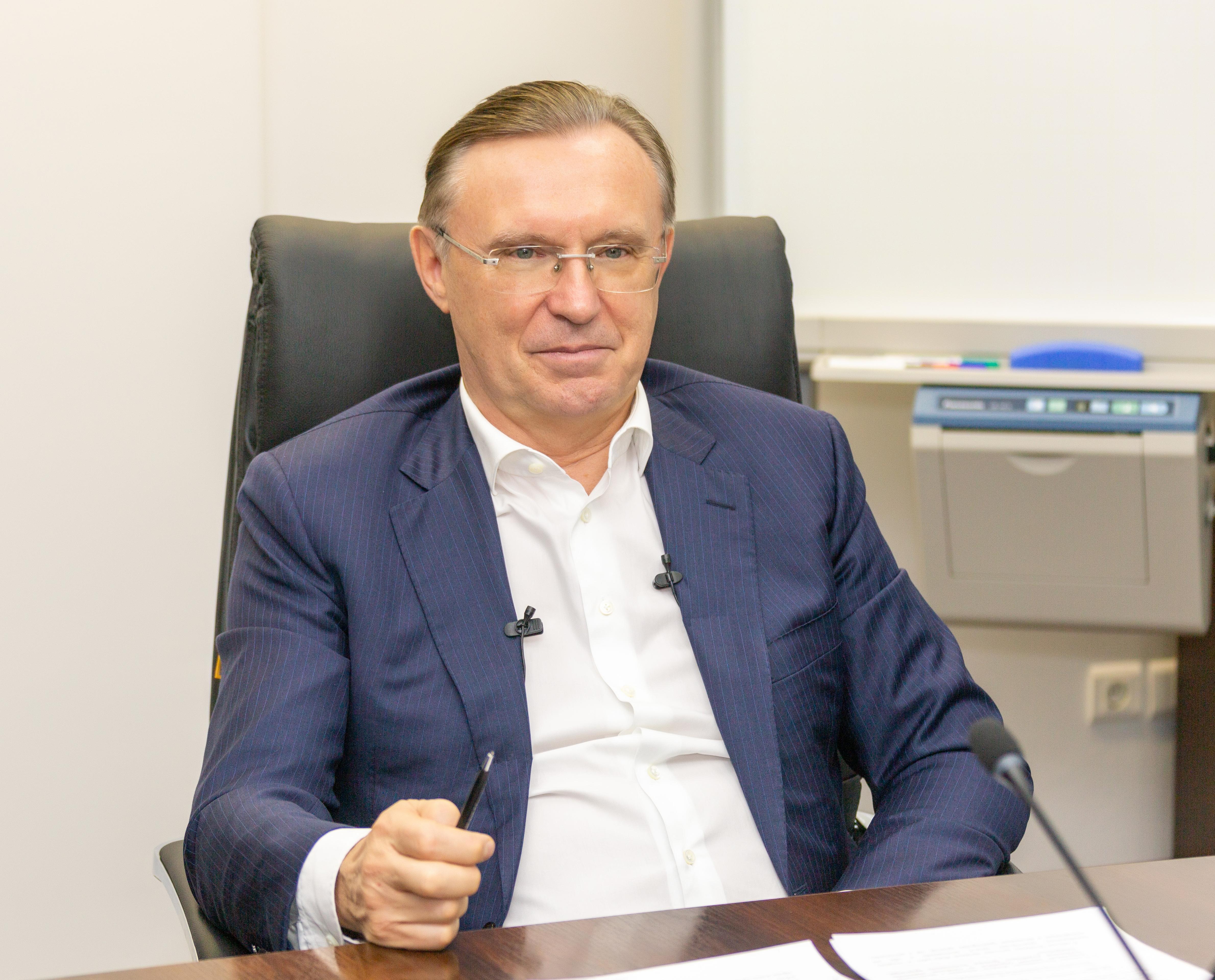 генеральный директор компании Сергей Когогин дал большое интервью корпоративным СМИ