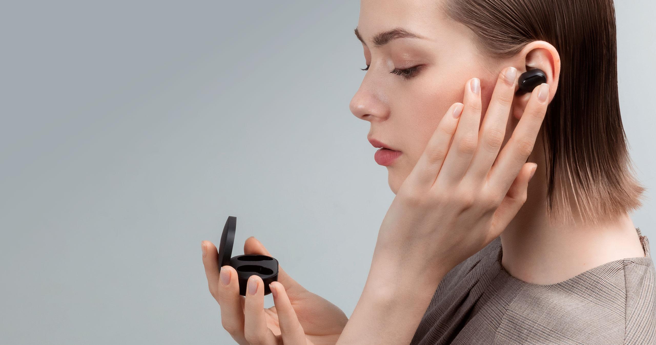 Беспроводные наушники Xiaomi Redmi AirDots True Wireless Bluetooth Headset