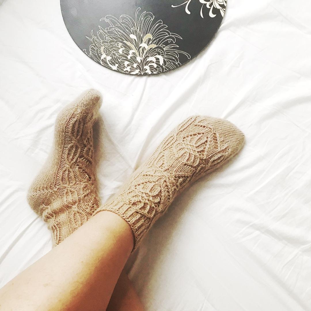носки из пряжи sarlag