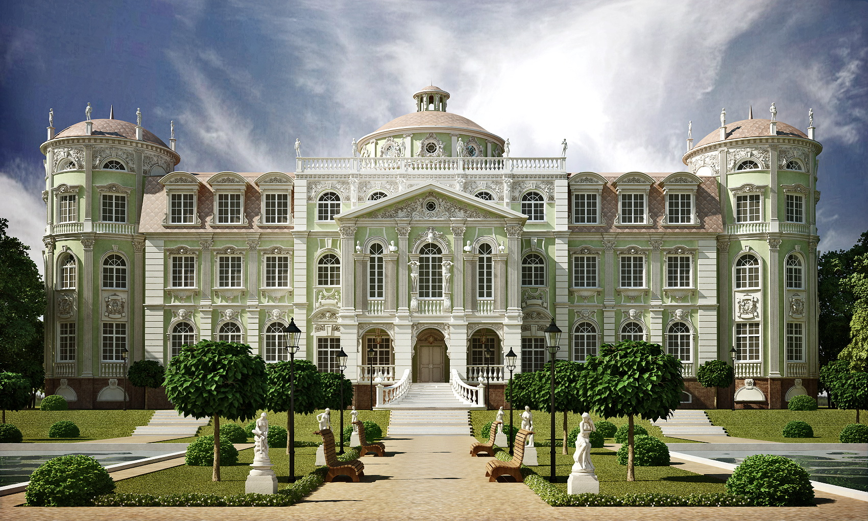 Большой дворец фото