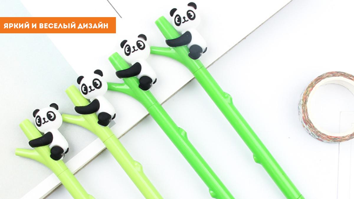 """Ручка """"Панда на бамбуке"""""""