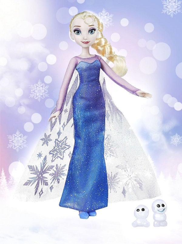 Северное сияние - кукла Эльза из Холодное сердце