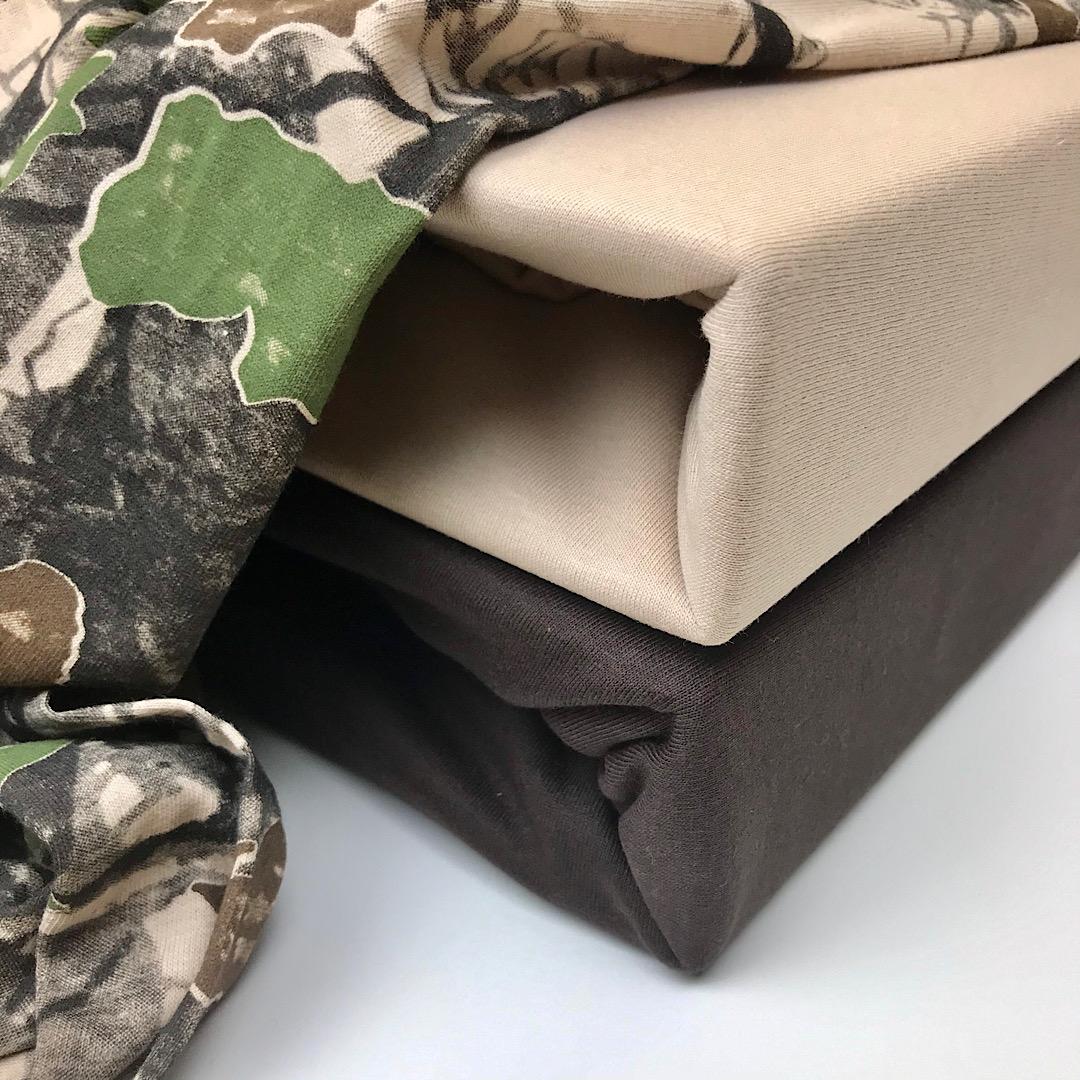 Трикотажное постельное белье с рисунком ЛЕС