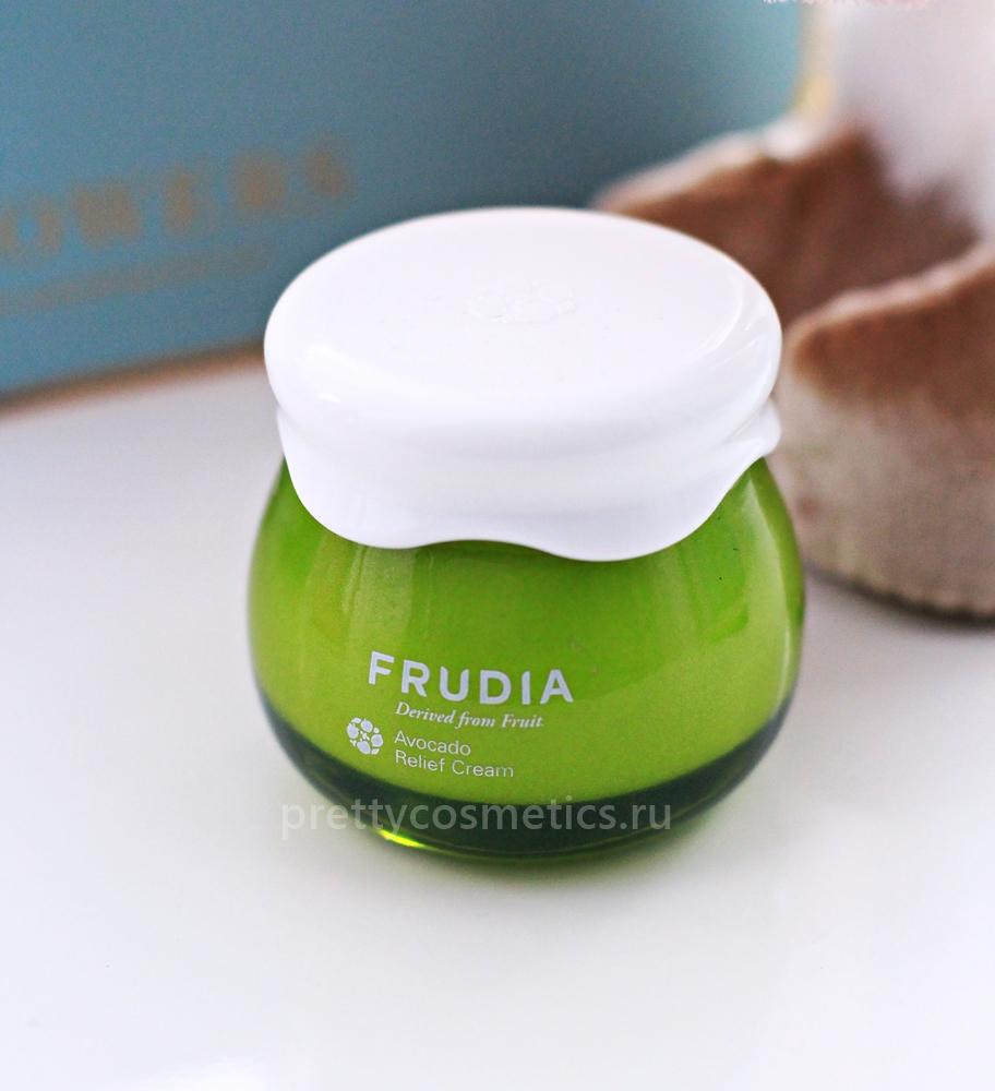 крем с авокадо frudia