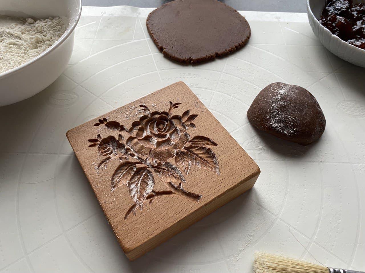 Узорный штамп для печенья