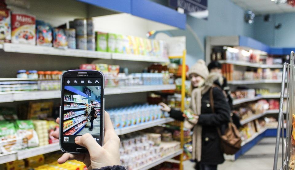 Фотографировать в магазинах можно