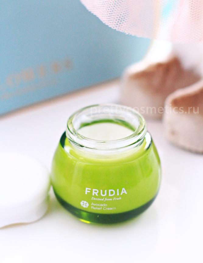 крем для сухой кожи с авокадо frudia