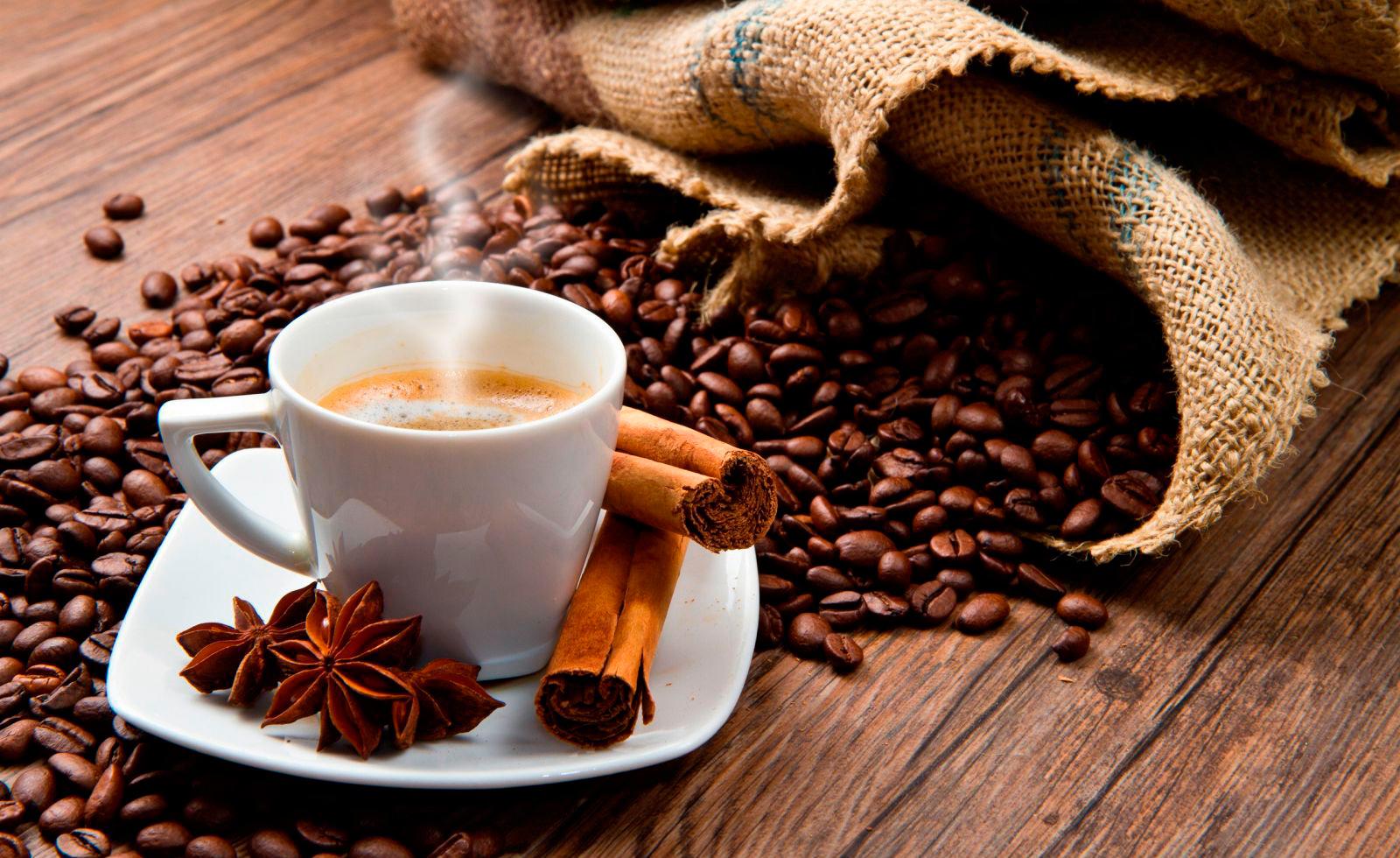 фото зернового кофе