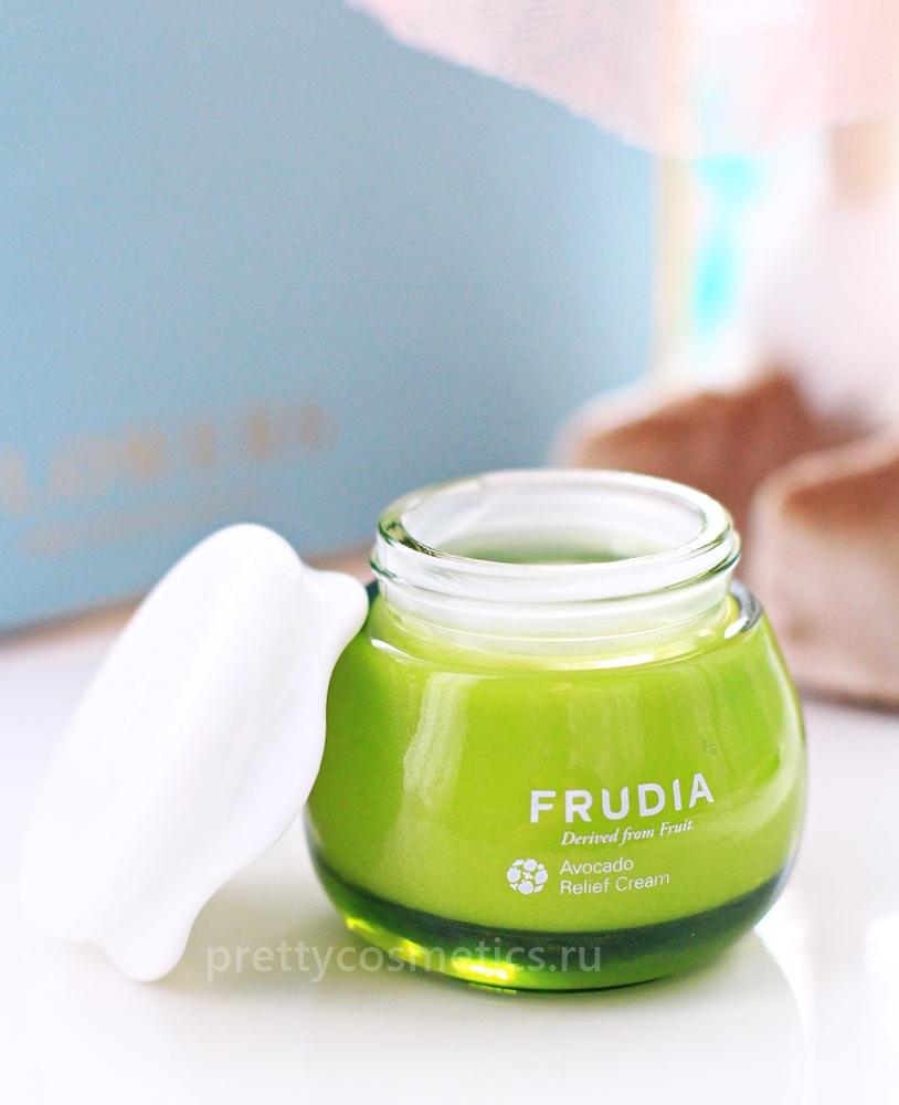 крем с экстрактом авокадо frudia