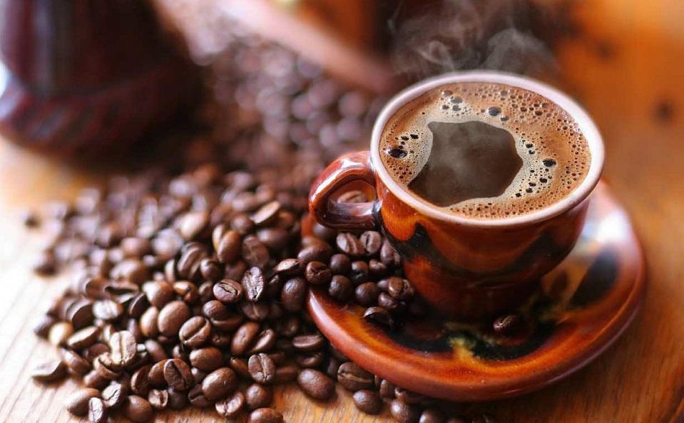 фото готового зернового кофе