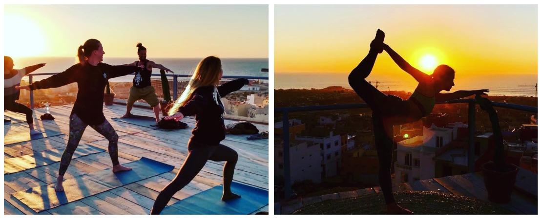 Серфинг и йога в Марокко
