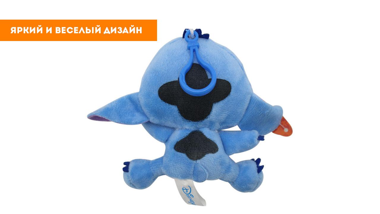 Игрушка-подвеска стич (12 см)