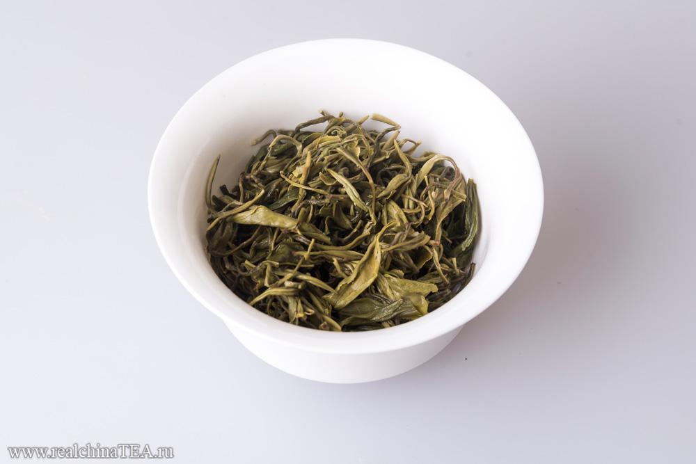 Зелёный китайский чай Билочунь