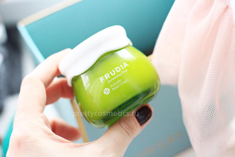 крем с авокадо для сухой и проблемной кожи frudia