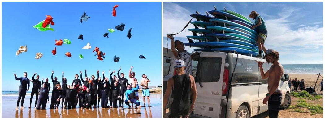 Уроки серфинга и йоги в Марокко