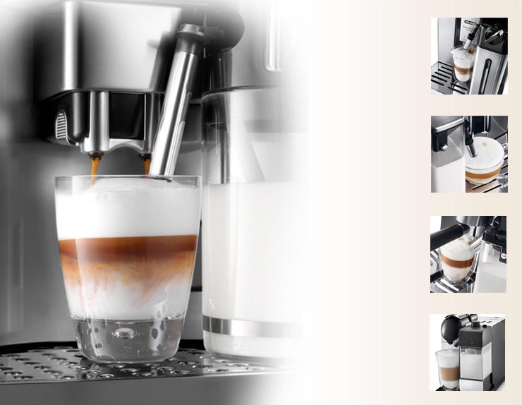Кофемашины с приготовлением капучино фото