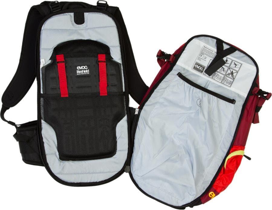 Защита спины в рюкзаке