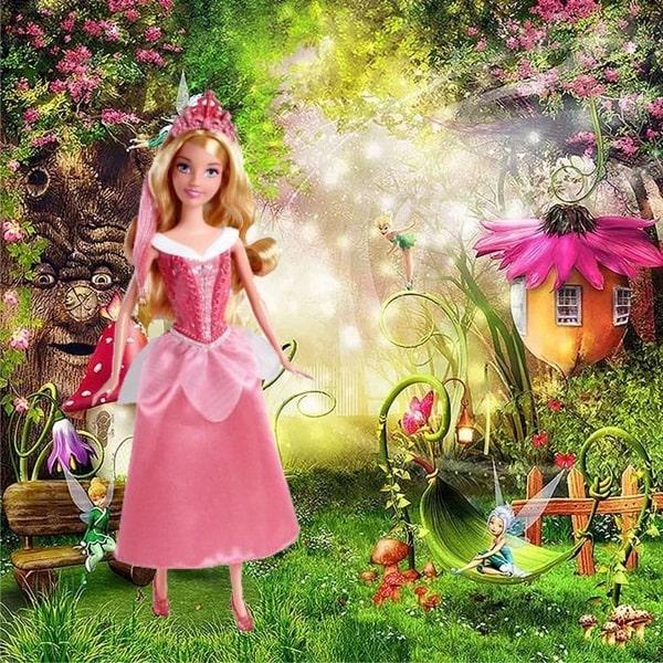 Кукла Аврора Спящая красавица- серия Модные прически