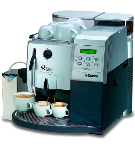 фото современной зерновой кофемашины