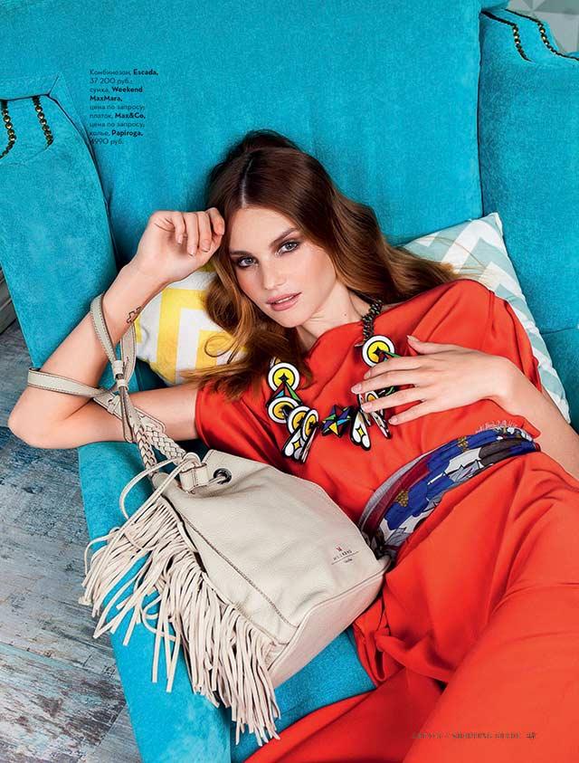 Колье Gonzalo Cutrina в журнале Shopping Guide август 2015 г.