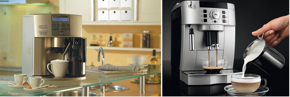 кофемашина с атоматическим приготовлением кофе