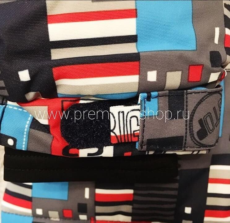 Регулируемые рукава на куртке Premont