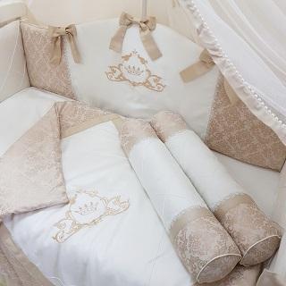 постельный комплект для новорожденных
