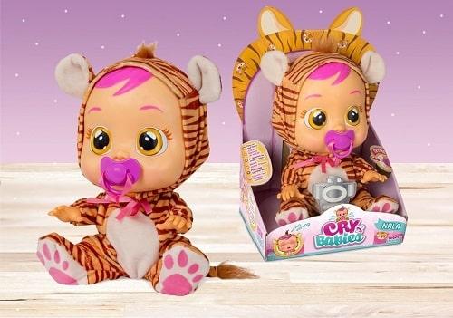 Кукла CryBabies Плачущий младенец Нала