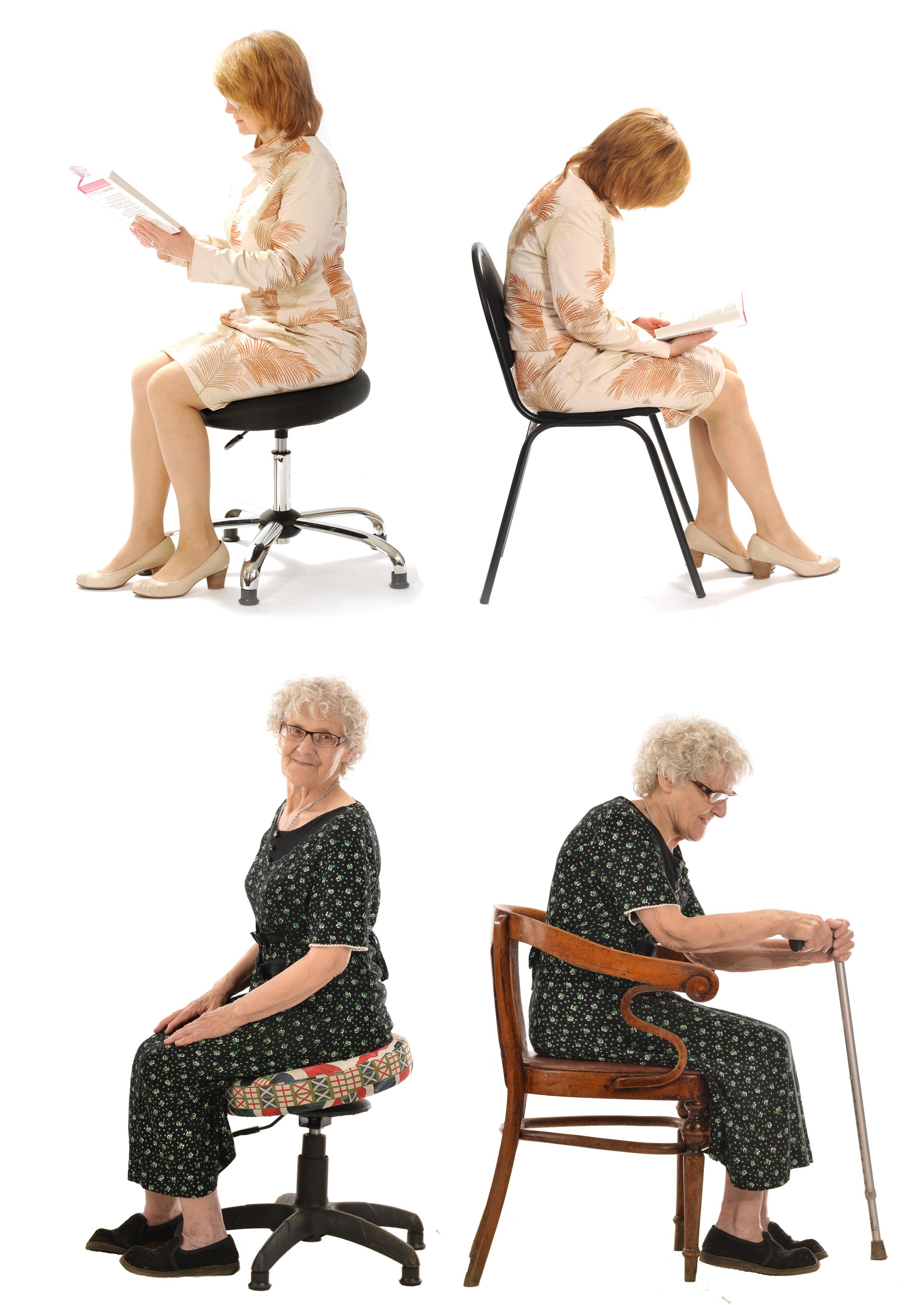 Двигайся сидя!  Движение, это ЕДИНСТВЕННЫЙ способ укрепления мышц