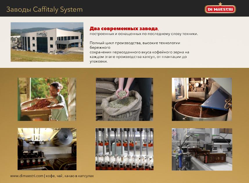 фото капсульного кофе caffitaly system