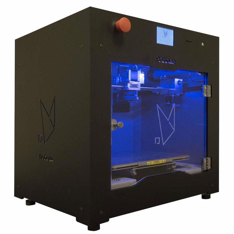профессиональный высокотемпературный 3д принтер robuze