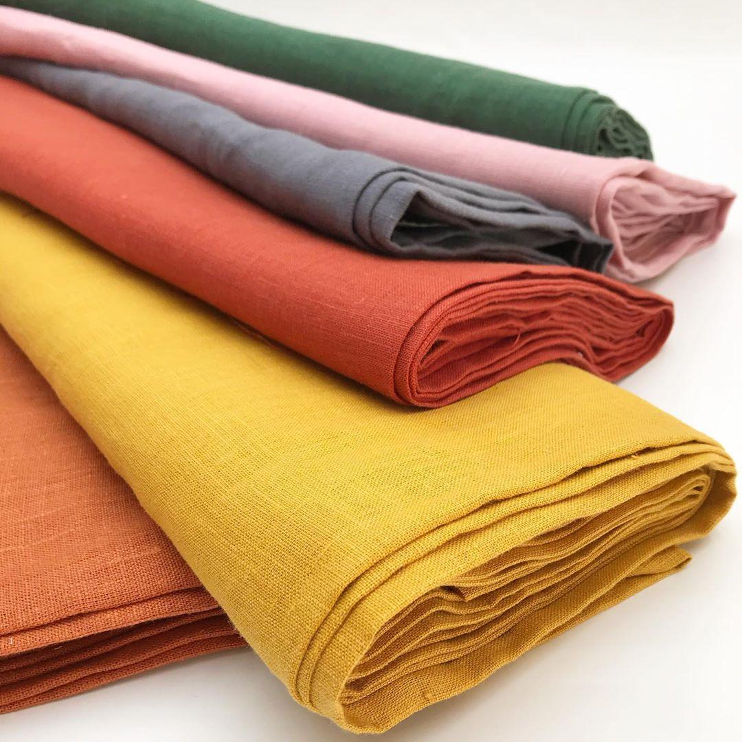 Купить ткань лён для пошива одежды