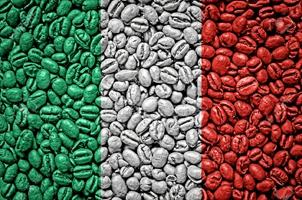 фото зернового кофе из Италии