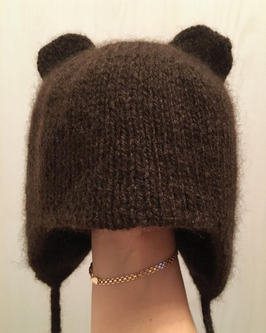 шапка из пуха яка sarlag