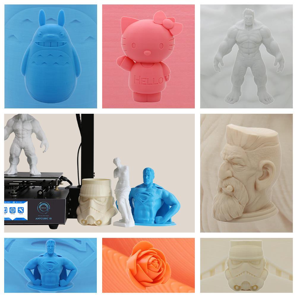 anycubic mega s качество печати