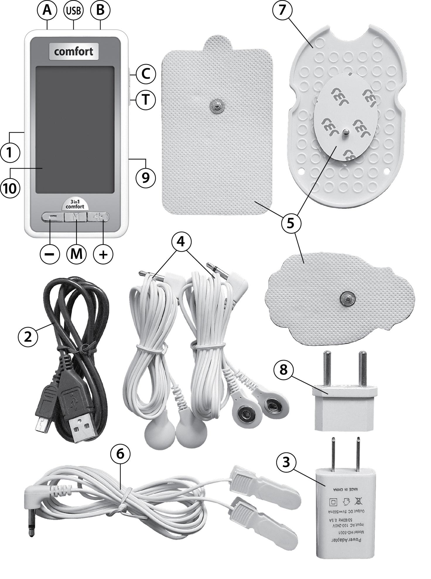 миостимулятор инструкция