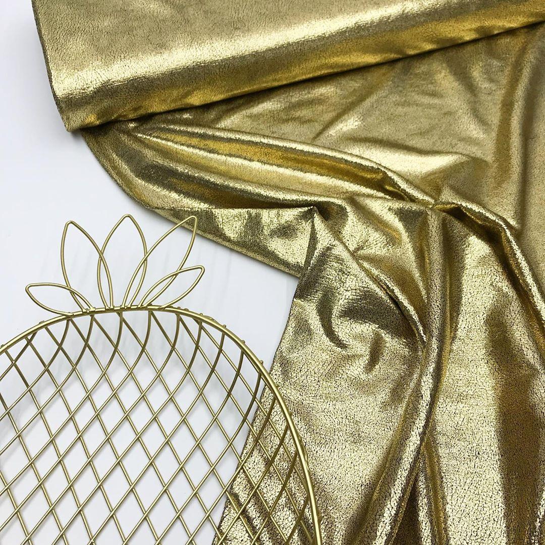 Купить золотую ткань