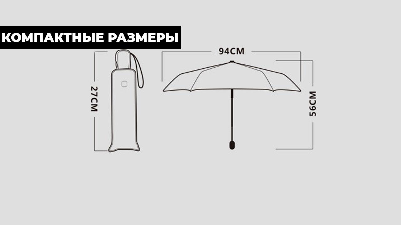 Изысканный розовый складной зонт автомат | ZC Caballero design