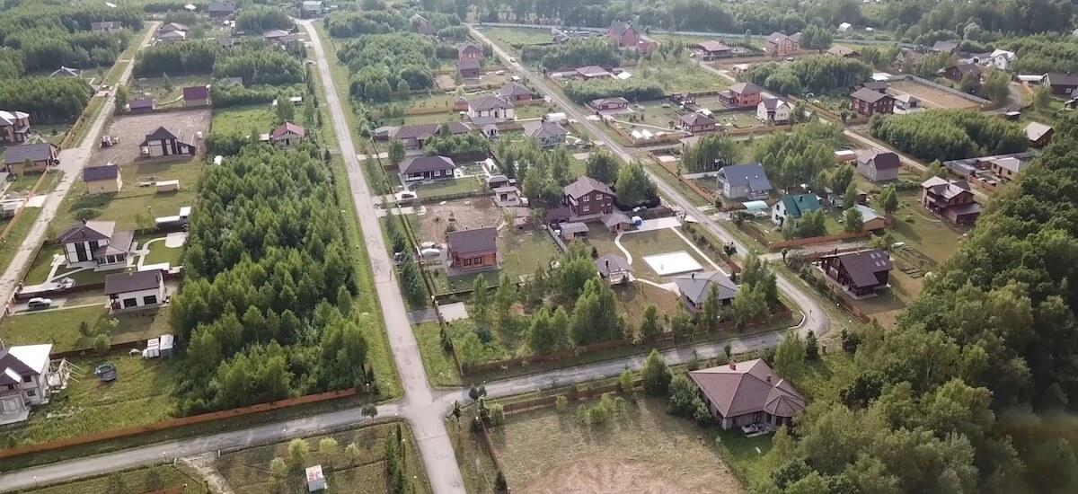 Готовый поселок по Симферопольскому шоссе