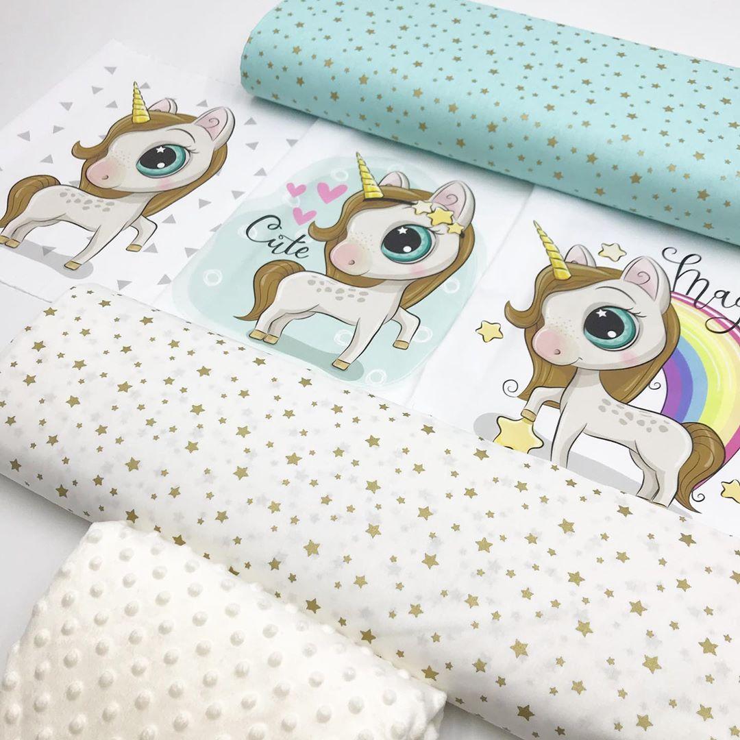 Ткани для бортиков новорожденным