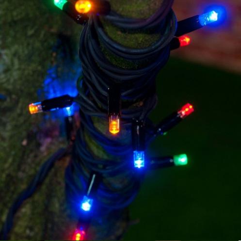 різно колярові гірлянда нитка LED придбати гірлянду