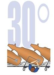 Доильная установка Елочка SAC115, 30 градусов